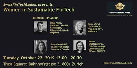 SFTL invites  to Women in Sustainable FinTech tickets