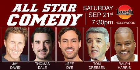 Thomas Dale, Ralph Harris, and more - Special Event:  All-Star Comedy tickets