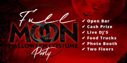 Full Moon Denver Halloween Costume Party - 2019