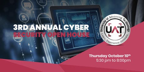 3rd Annual Cyber Security Open House tickets