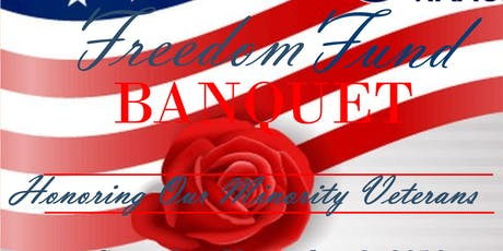 Freedom Fund Banquet Honoring Minority Veterans tickets