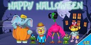 Bubble's Not So Spooky Halloween Bash