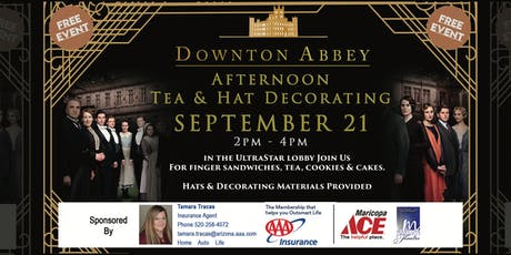 Downton Abbey Afternoon Tea and Hat Decorating tickets