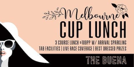 Melbourne Cup at The Buena tickets