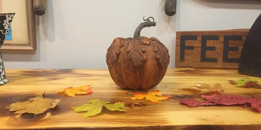 Wine and Design Pumpkin Decorating (without the mess)