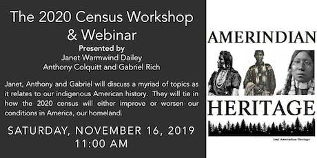 2020 Census Workshop & Webinar tickets