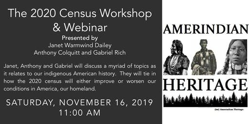 2020 Census Workshop & Webinar