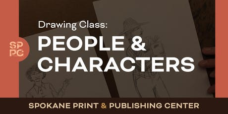 Drawing Class: People and Characters tickets