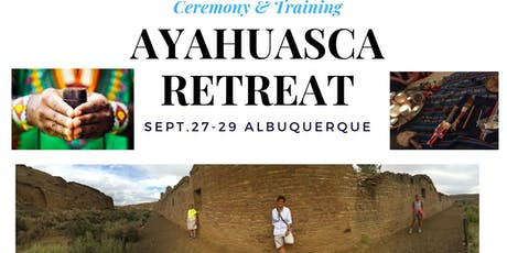Ayahuasca Therapeutic Retreat, DMT, Kambo, Sweat, Native Shamanic Training tickets