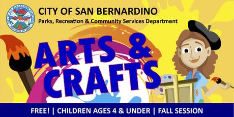FALL #2: Arts & Crafts for 4 & Under tickets