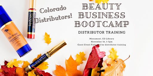 Colorado SeneGence Distributor Beauty Business BootCamp!