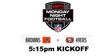 Monday Night Football: CLE V SF tickets