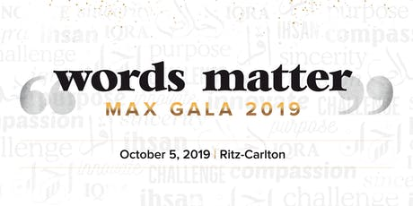 MAX Gala 2019  | Ritz Carlton  | Muslim Awards for Excellence tickets