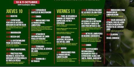 2DO CONGRESO INTERNACIONAL DEL LIMÓN tickets