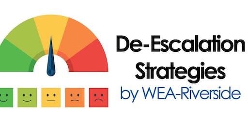 De-Escalation Strategies for Educators