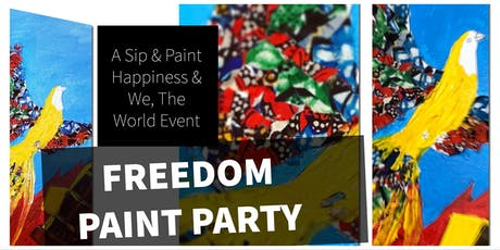 Sip & Paint Freedom tickets