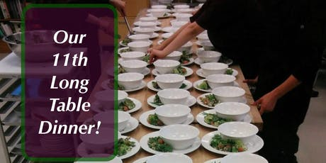 Long Table Dinner 11 is on Friday October 11, 2019 tickets