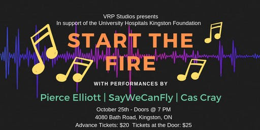Start The Fire - Feat. Pierce Elliott, SayWeCanFly and Cas Cray