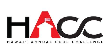 Hawaii Annual Code Challenge 2019 - Kick Off tickets
