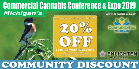 Michigan's Commercial Cannabis Conference & Expo 2019 tickets