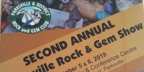 Second Annual Rock and Gem Show in Parksville tickets