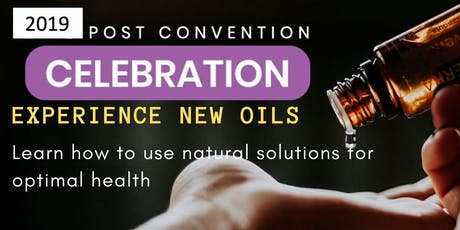 New Essential Oils by doTERRA Sample & Learn Class tickets
