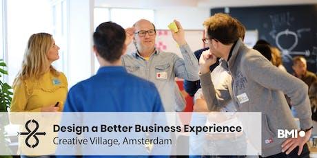 Design a Better Business Experience - Amsterdam tickets