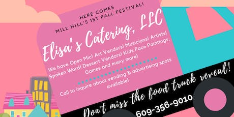 FALL FESTIVAL IN MILL HILL PARK AND ELISA'S CATERING LLC PINK FOOD TRUCK REVEALING  tickets