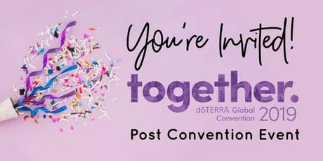 Post Convention Party!!! tickets