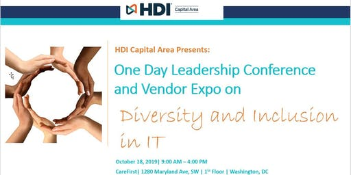 HDI Capital Area One Day Leadership Conference & Vendor Expo 2019