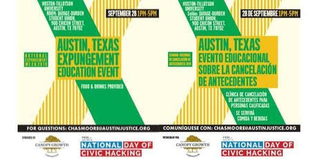National Expungement Week - Austin tickets
