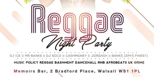 REGGAE NIGHT PARTY
