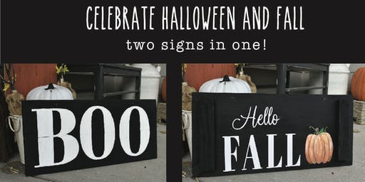 Halloween & Fall - 2in1 Paint Class