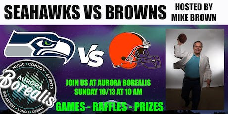 SEAHAWKS @ BROWNS hosted by Mike Brown tickets