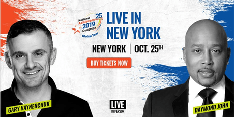 Gary Vaynerchuk & Daymond John Live! New York tickets