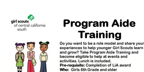 Program Aide Core Training - Fresno tickets