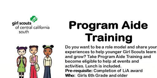 Program Aide Core Training - Fresno