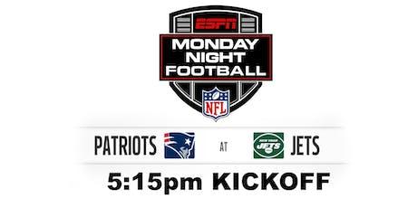 Monday Night Football: NE v NYJ tickets