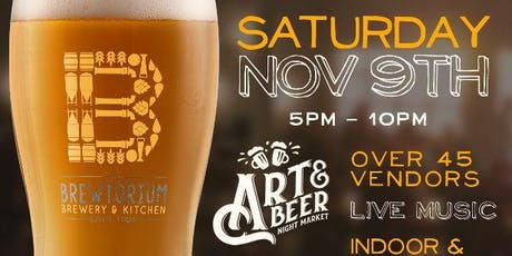 Art & Beer Night Market  Austin tickets