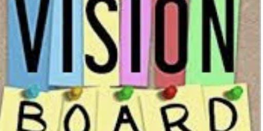 Vision Board & Wine
