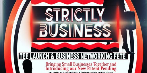 "No Longer Bound Presents ""Strictly Business Tee Launch and Business Network"