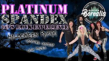 Platinum Spandex Rockin' Halloween Party!