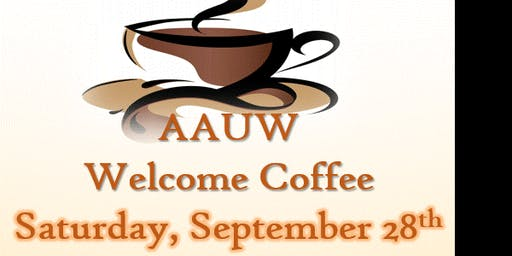 AAUW Welcome Coffee - free to attend!