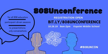 808Unconference for Educators tickets