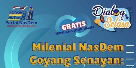 MILENIAL NASDEM GOYANG SENAYAN: EDISI HARI TANI tickets