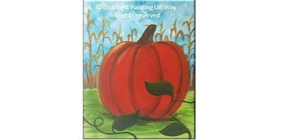 2 Hour Painting Class - Pumpkin Patch (2019-09-27 starts at 7:00 PM)