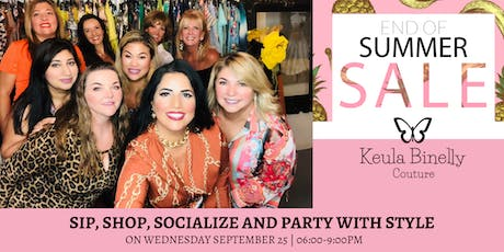 Keula Binelly Couture End of Summer Sale - Going Strong... tickets