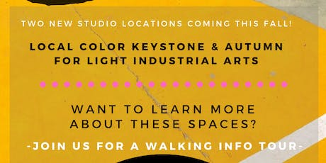 Open House: Tour Two New Local Color SJ Studios tickets