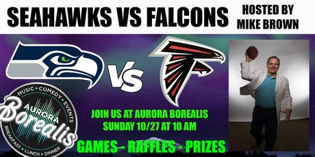 SEAHAWKS @ FALCONS hosted by Mike Brown tickets