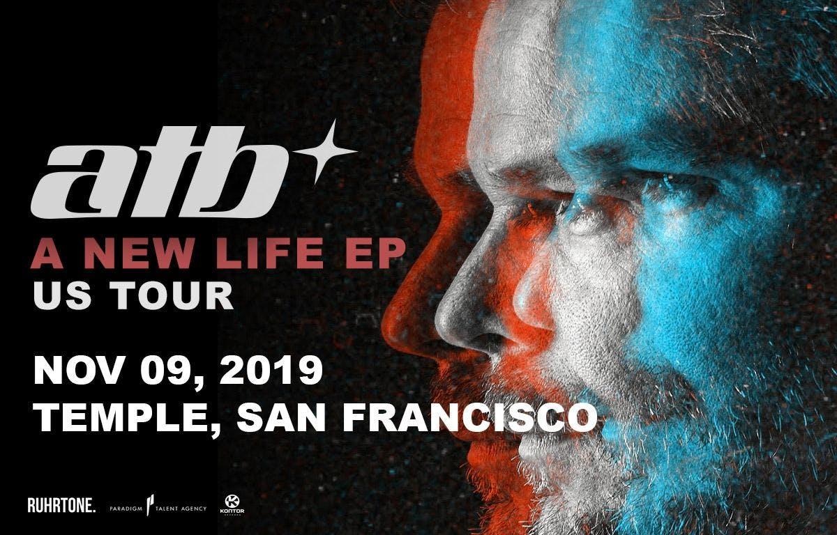 ATB - A New Life EP US Tour